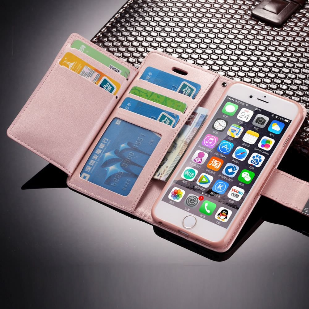 Shockproof Leather Phone Cover For iPhone
