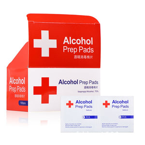 Alcohol Wet Wipe Disposable Disinfection Prep Swap Pad Antiseptic Skin -100pcs/lot