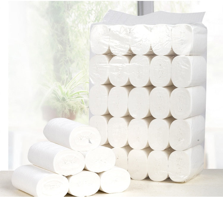 Toilet Roll Paper - Ultra Strong Clean Touch Toilet Paper - 10 Rolls