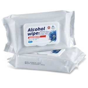 Disinfectant Wipes Alcohol Cotton