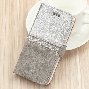 Wallet Phone Case For iPhone - Leather Purse For Apple 6S 6 8 7 Plus 5 5S SE 2020 360 Girls Cover