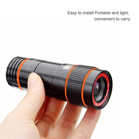 HD Universal 12X Cell Phone Telephoto Lens08