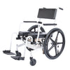 Image of ActiveAid 1100 Rehab Shower / Commode Chair - Seat Height / Slope Adjustable - General Medtech