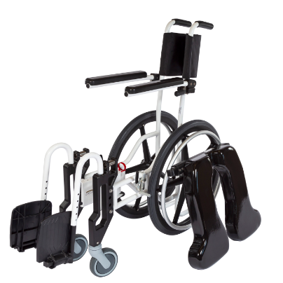 ActiveAid 922 Rehab Shower / Commode Chair - Folding