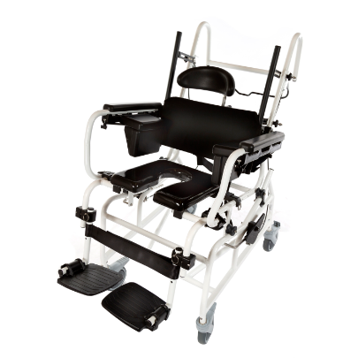 ActiveAid 1218 Pediatric Rehab Shower / Commode Chair - Tilt - General Medtech