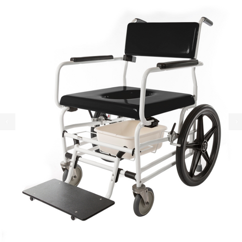 ActiveAid 720 Bariatric Rehab Shower / Commode Chair - General Medtech