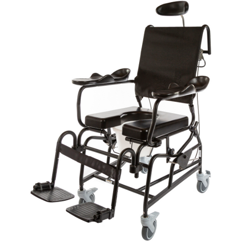 ActiveAid 285 Rehab Shower / Commode Chair - Tilt - General Medtech