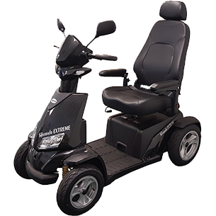 Merits Silverado Extreme 4-Wheel Full Suspension Electric Scooter S941L - General Medtech