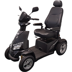 Image of Merits Silverado Extreme 4-Wheel Full Suspension Electric Scooter S941L