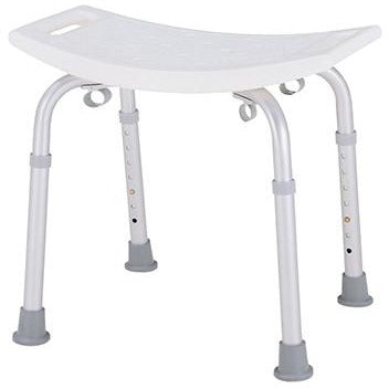 Merits Deluxe Bath Bench (No Back), Tool Free A102 (Pack of 2) - General Medtech