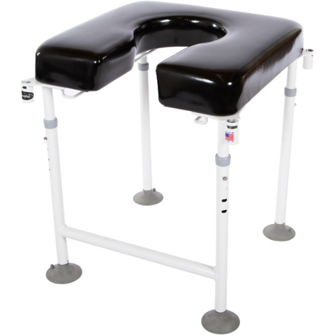 ActiveAid 202 Rehab Shower / Commode Chair - Bath / Toilet Modular System - General Medtech