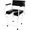 Image of ActiveAid 202 Rehab Shower / Commode Chair - Bath / Toilet Modular System - General Medtech