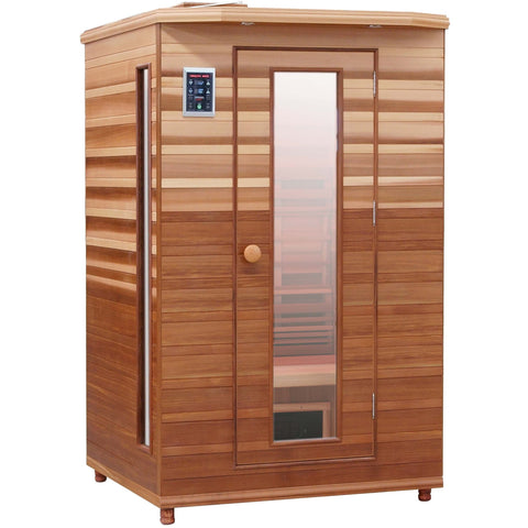 Health Mate Enrich 2 Infrared Sauna HM-ASE-2-CD-CL - General Medtech