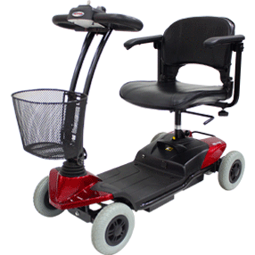 CTM 4 Wheel Mobility Scooter HS-118 - General Medtech