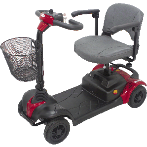 CTM 4 Wheel Mobility Scooter HS-295 - General Medtech