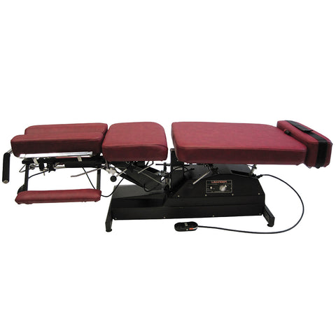 Leander Chiropractic Table LT 900 Motorized Flexion Distraction Fixed Height - General Medtech