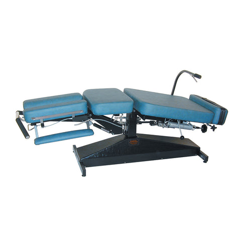 Leander Chiropractic Table LT LITE Manual Flexion Distraction Fixed & Variable Height - General Medtech