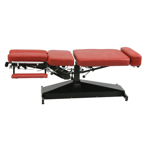 Leander Chiropractic Table LT STAT Stationary Adjustment Fixed & Variable Height - General Medtech