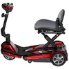 Image of EV Rider Easy Move Transport M Folding Mobility Scooter S19M - General Medtech