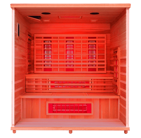 Health Mate Elevated Health Infrared Sauna HM-FSE-5-CD-CL