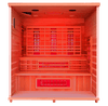 Image of Health Mate Elevated Health Infrared Sauna HM-FSE-5-CD-CL