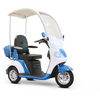 Image of EWheels EW-44 Covered Luxurious 3 Wheel Mobility Scooter