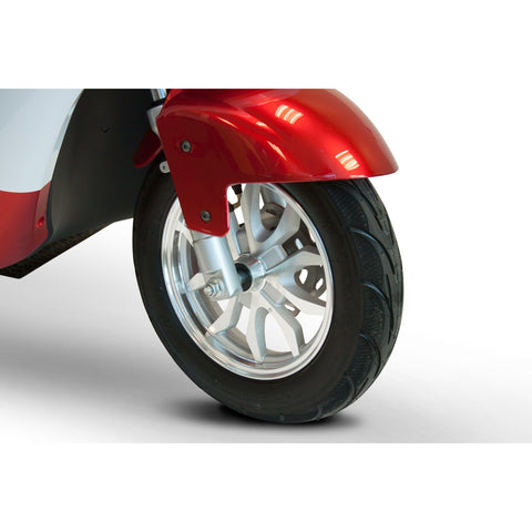 EWheels EW-44 Covered Luxurious 3 Wheel Mobility Scooter