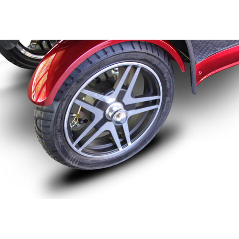 EWheels EW-72 Full Suspension 4 Wheel Mobility Scooter