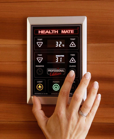 Health Mate Enrich 2 Infrared Sauna HM-ASE-2-CD-CL