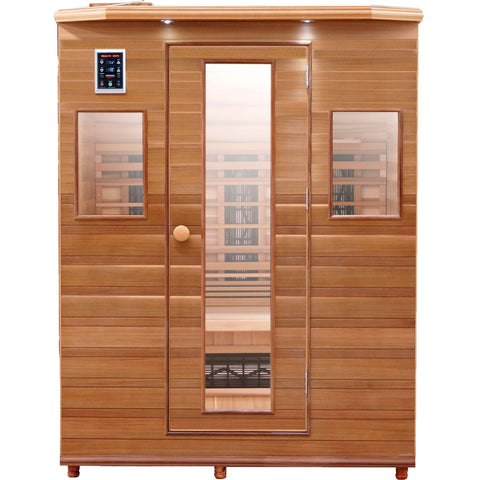 Health Mate Enrich 3 Infrared Sauna HM-ASE-3-CD-CL - General Medtech