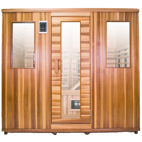 Health Mate Therapy Lounge Infrared Sauna HM-NSE-5-CD-CL - General Medtech