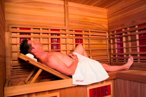 Health Mate Therapy Lounge Infrared Sauna HM-NSE-5-CD-CL