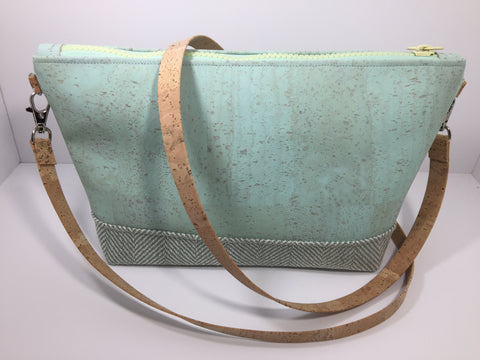 Mint Crossbody Purse