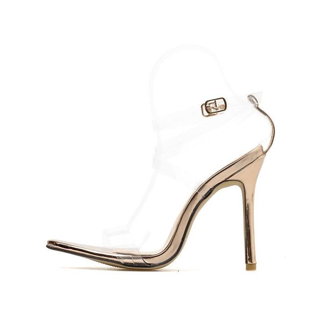 753e4a3a295 Pointed Peep Toe Strappy Heels – BUYREX