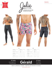 Gerald Underwear Sewing Pattern by Jalie