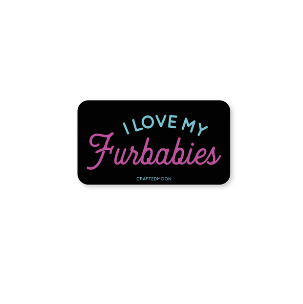 Furbabies Sticker by CraftedMoon