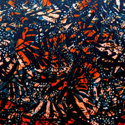 Abstract Monarch Nylon Spandex Swimsuit Fabric