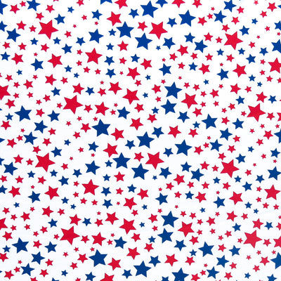 Americana Traditional Stars Poly Spandex Swimsuit Fabric
