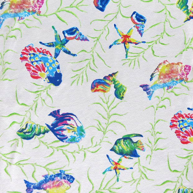 Aquarium Cotton Knit Fabric