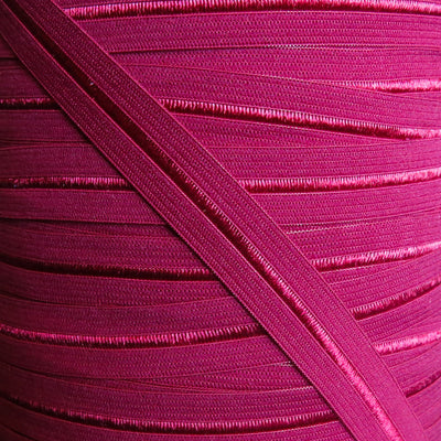 Berry Red Fold Over Elastic Trim