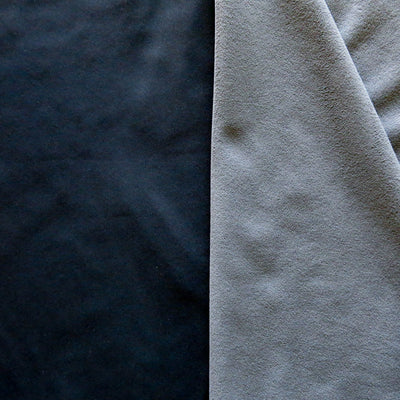 Black/Charcoal Softshell Fleece Fabric