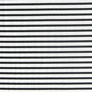 Black and White Summertime Stripe Nylon Spandex Swimsuit Fabric