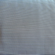 Very Narrow Black and White Stripe Nylon Spandex Swimsuit Fabric