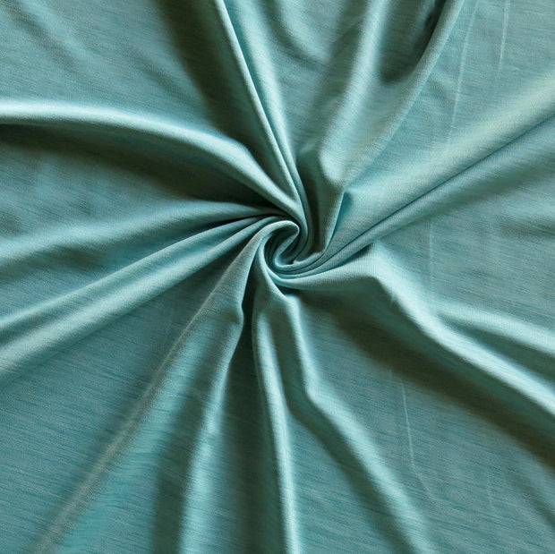 Blue Pearl Dry Flex Marl Poly Spandex Jersey Knit Fabric
