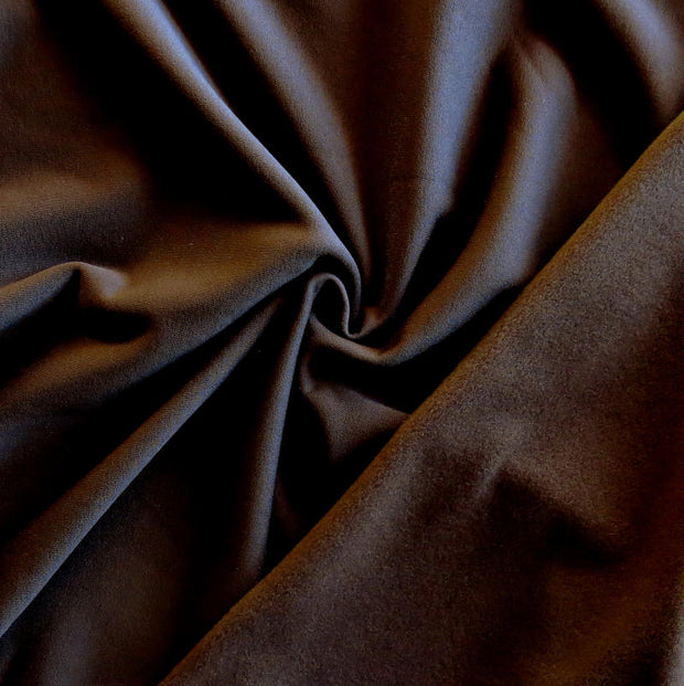 Brown Polartec Powerstretch Fleece Knit Fabric