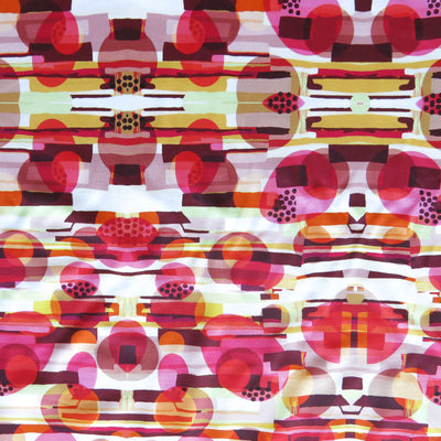 Bubble Kaleidoscope Nylon Spandex Swimsuit Fabric