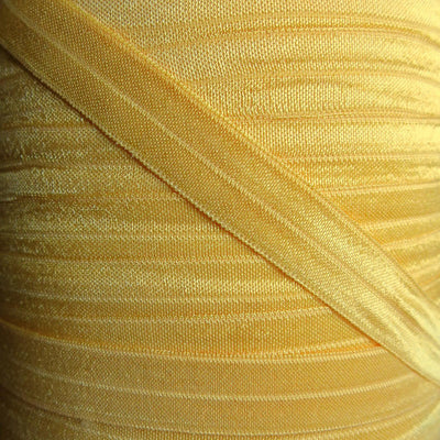 Bumblebee Yellow Fold Over Elastic Trim