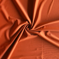 Burnt Ochre Nylon Spandex Swimsuit Fabric