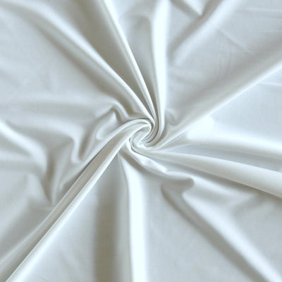 White Ecofit 13 Recycled Nylon Spandex Swimsuit Lining Fabric
