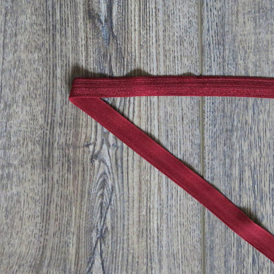 Cardinal Fold Over Elastic Trim